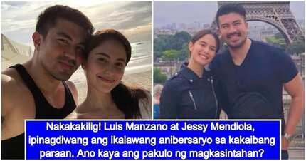 Ang sweet! Luis Manzano at Jessy Mendiola, nagdiwang ng 2nd anniversary sa ibang bansa