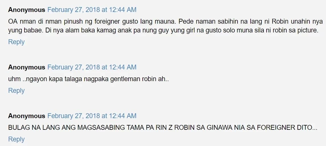 Nakakahiya raw ang ginawa! Netizens slam Robin Padilla for attacking a foreigner in Hong Kong