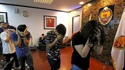 Celebrities visit drug lab in Parañaque