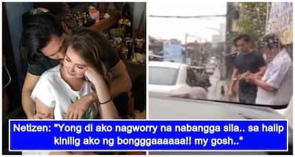 Silang dalawa lang! Angelica Panganiban at Carlo Aquino, nabuking dahil sa kinasangkutang 'minor car accident'