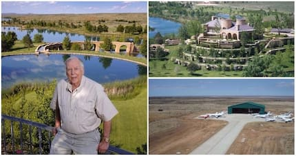 Billionaire's 65,000-acre ranch boasting plane runway and manmade lakes is up for sale for $250m