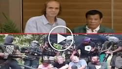 Sa wakas! Duterte finally meets grateful Norwegian freed from deadly Abu Sayyaf