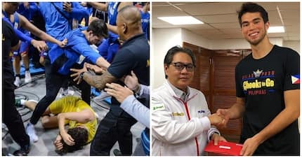 Ang tunay na MVP! Gilas player Troy Rike receives P200K for saving Chris Goulding from assault