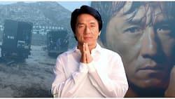 Muntik na! Jackie Chan at kanyang crew, inabot ng mudslide sa China