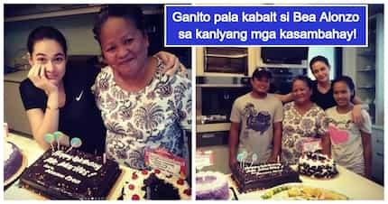 Galanteng bossing! Bea Alonzo, nagpa-birthday party ng bongga para sa dalawang kasambahay