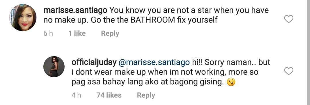 Swak na swak ang buwelta! Judy Ann Santos shuts down basher with a perfect response
