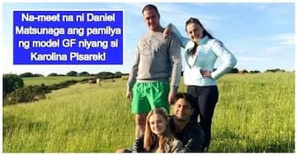 Seryosohan na 'to! Daniel Matsunaga finally meets the family of Polish girlfriend Karolina Pisarek