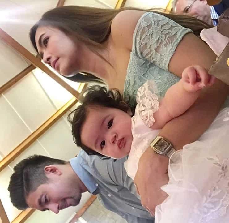 Parang prinsesa ang baby nila! Photos and video from the baptism of Bangs Garcia and Lloydi Birchmore's daughter Baby Amelia
