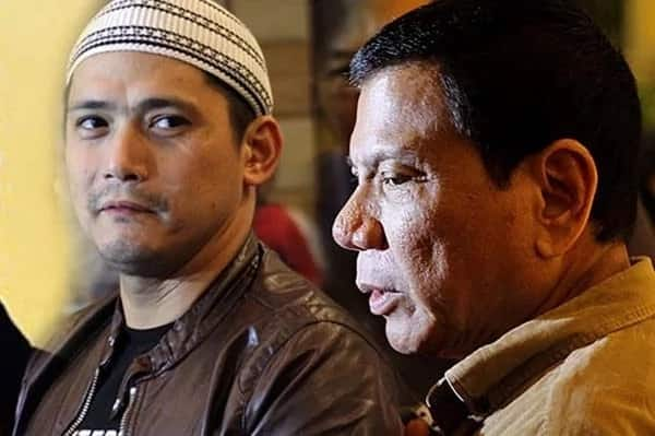 Robin Padilla says he had no hand in Mark Anthony Fernandez's release