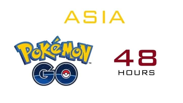 Pokemon Go is coming to Asia and Europe in 48 hours