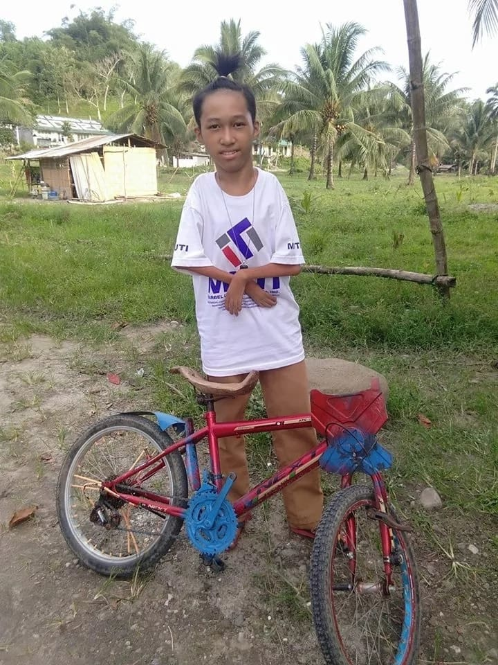 Video of disabled grade 9 student riding bicycle to school goes viral