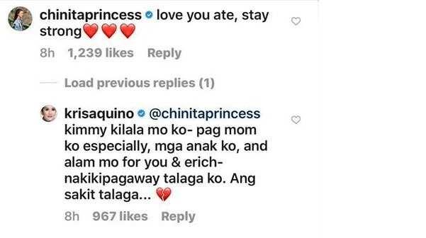 Mga sikat na artista, nag-react na sa away nila Kris Aquino at Mocha Uson