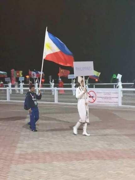 Nag-iisang kalahok na Pinoy sa World Nomad Games na ginanap sa Kyrgyzstan, gamit daw ang sariling pera