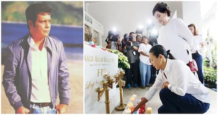 Susan Roces & Grace Poe hold simple commemoration of FPJ's birthday