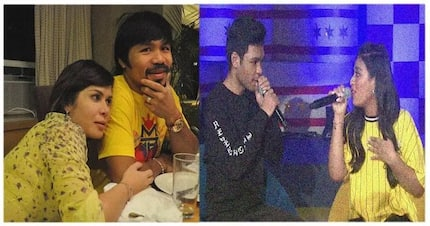 Michael Pacquiao at girlfriend, Yazmin Aziz, nagpakilig sa ASAP Chill Out