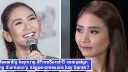 Panawagang #FreeSarahG trending, mas dumami mga taong nagpahiwatig ng pagkadismaya sa kung sinuman ang 'nagpe-pressure' kay Sarah