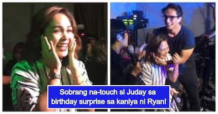 Mapagmahal na asawa! Judy Ann Santos gets emotional with surprise birthday party by Ryan Agoncillo
