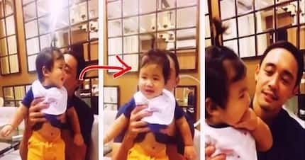 Part of the family na?! Super cute viral video of Alex Gonzaga's boyfriend playing with baby Seve goes viral!