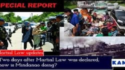 Two days after Martial Law was declared, what is going on in Mindanao?