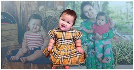 Nakakagigil! Mommy Pauleen Luna shares studio shots of adorable Baby Tali