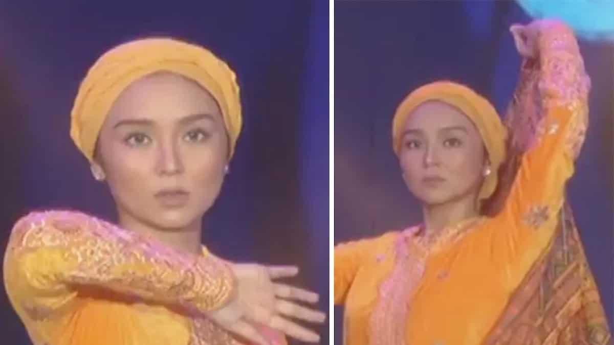 Watch Kathryn Bernardo give a beautiful dance tribute in ASAP's #ParaSaMarawi