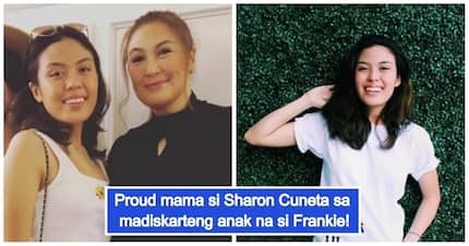 Marunong ng dumiskarte! Sharon Cuneta is proud of her 'baby businesswoman' Frankie!