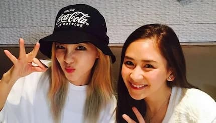 Sandara Park and Sarah G takes Instagram by storm with their epic photo