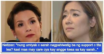 Angeline Quinto, nakatanggap ng suporta mula kay Lea Salonga matapos pagbantaan ng basher ang kanyang ina