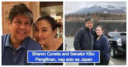 Parang honeymoon ulit! Sharon Cuneta and Sen. Kiko Pangilinan spend some alone time in Japan