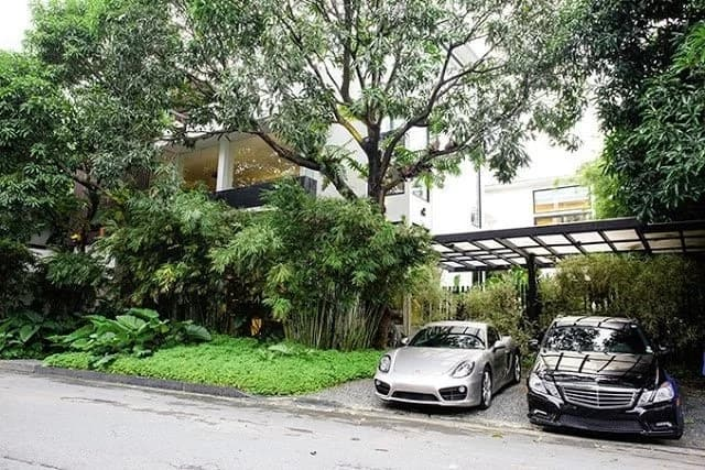 Zsa Zsa Padilla's modern Asian mansion is to die for