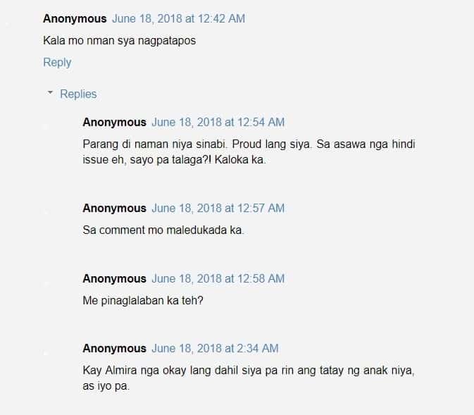 Netizens react when Paul Alvarez attended his daughter's graduation
