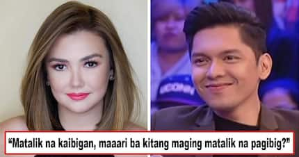 Angge sagutin mo na please! Netizens ask if Carlo Aquino's cryptic kilig tweet is meant for his ex and BFF Angelica Panganiban