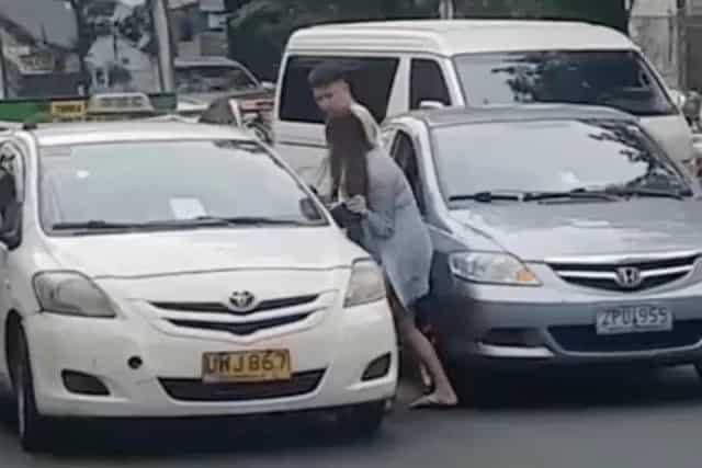 Sila daw ang na-agrabyado! Cherish Sharmaine Interior denies punching or slapping the elderly taxi driver