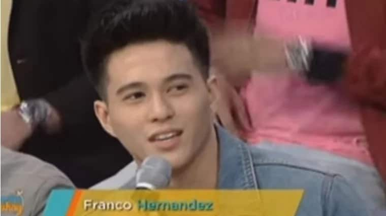 """Matagal pa naman kami magkakasama."" Franco envisioned himself staying with the Hashtags for the next few years"