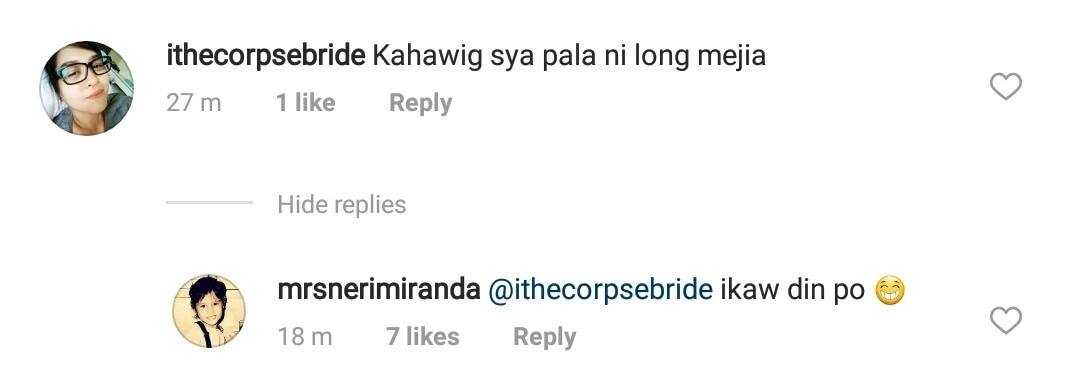 Neri Naig gets bashed after responding to netizen who said that Chito Miranda looks like Long Mejia