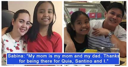 Claudine Barretto, binati ng anak na si Sabina ng Happy Father's Day