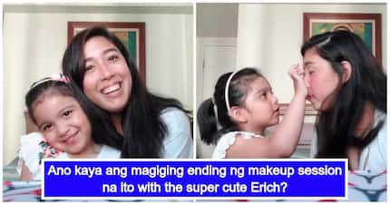 """Ang cute ng magkapatid! Dani Barretto's youngest sister Erich makes her YouTube debut as a """"makeup artist"""""""