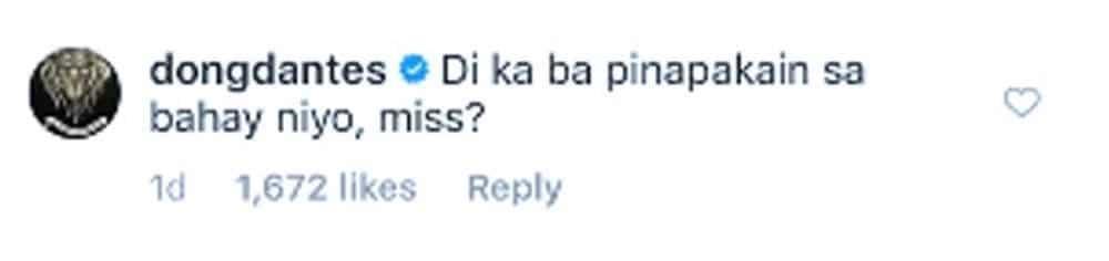 Marian Rivera, nag-react sa sikat na artistang nagtanong sa kaniya kung pinapakain ba siya sa bahay