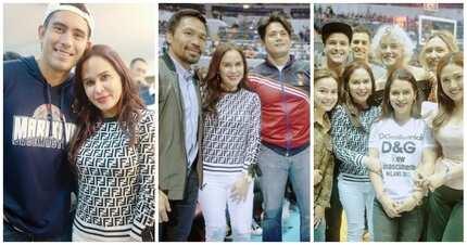 Star-studded! Dinumog ng malalaking artista ang opening ng MPBL ni Manny Pacquiao