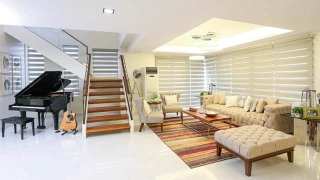 Jennylyn Mercado's luxurious two-story house in Quezon City