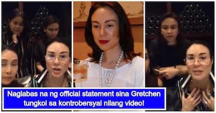 Gretchen Barretto at mga kaibigan nito, naglabas ng video para sagutin ang naging kontrobersyal nilang pagtawa sa isang letter sender