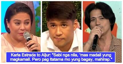 Karla Estrada personally gives advice to Aljur Abrenica on how to deal with Robin Padilla