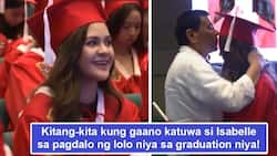 Wala daw ni isang award? Pres. Duterte attends Isabelle Duterte's graduation, netizen commented 'fave apo' allegedly receives no award