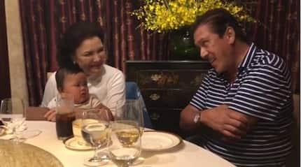 Baby Tali's heartwarming bonding moment with Tito Sotto on his 70th birthday
