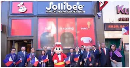 Proud Pinoy! Si Jollibee nasa United Kingdom na