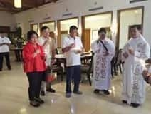 LOOK! Duterte graces the blessing of his new home, Bahay Pangarap