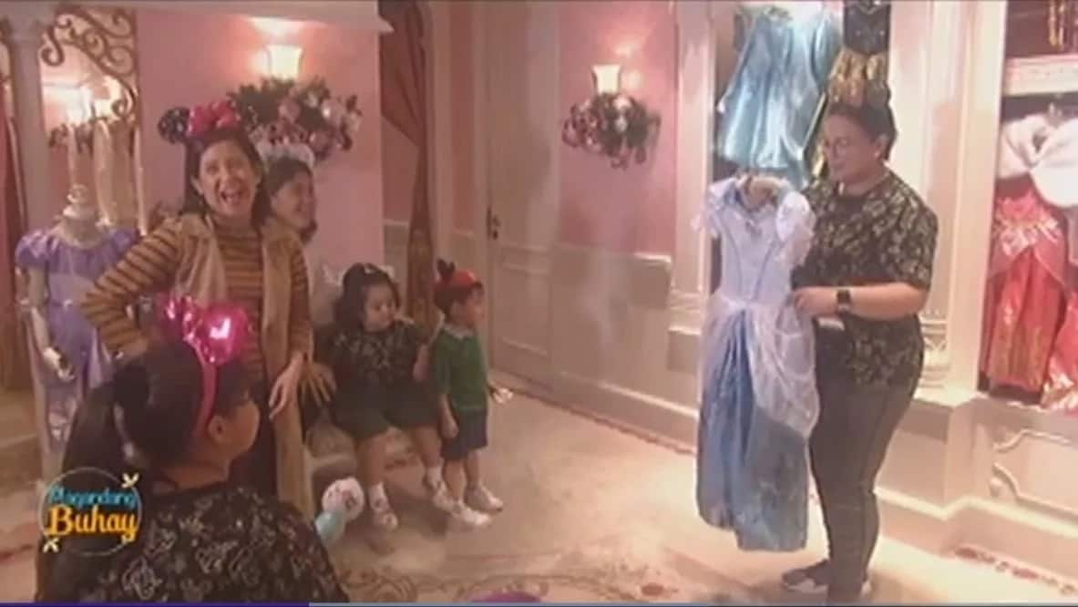 Pang-asar si Melai! Momshie Karla looks for a Cinderella dress that would fit her