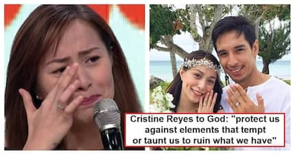 May gustong mang-agaw kay Ali Khatibi? Cristine Reyes asks God to protect her marriage; draws speculation from netizens!