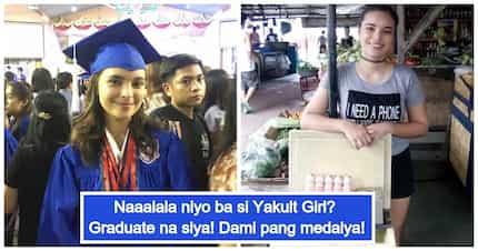 Beauty and brains talaga! Former PBB teen Kristine Hammond graduates with honors