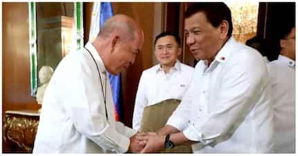 Pangulong Duterte sumang-yon umano na titigil sa kanyang birada laban sa simbahang Katoliko